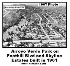 Arroyo Verde Park in 1967.