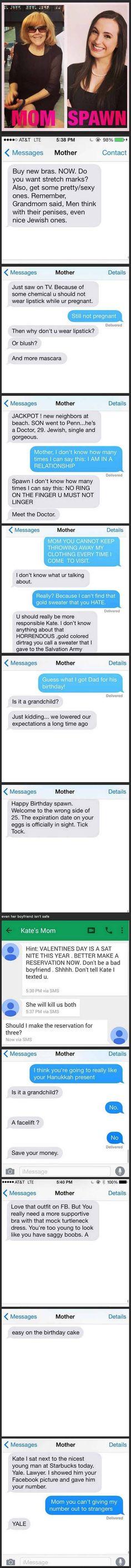 Mom vs Spawn