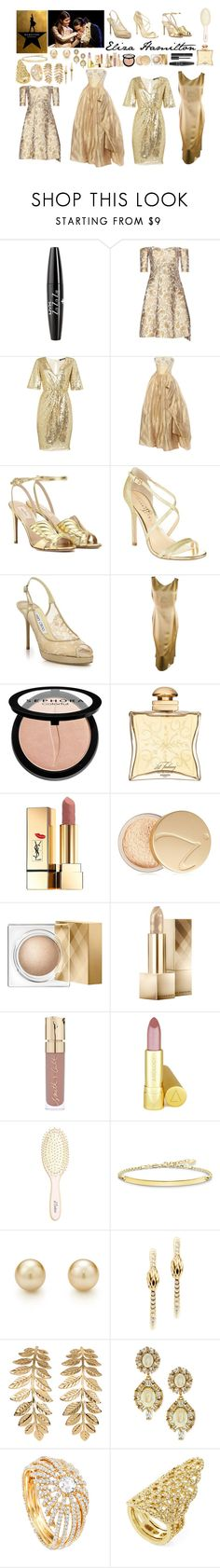 """Eliza Hamilton"" by ellelovesfashion07 ❤ liked on Polyvore featuring NYX, STELLA McCARTNEY, TFNC, Valentino, Ivanka Trump, Jimmy Choo, Richard Tyler, Chanel, Sephora Collection and Hermès"