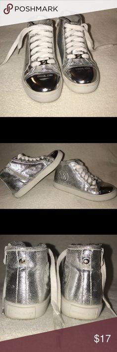 Michael Kors girl Sneakers Silver sneakers Michael Kors Shoes Sneakers