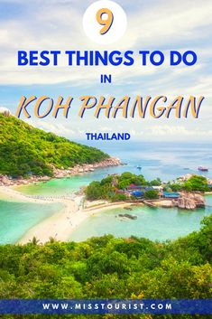 Looking for the best things to do in Koh Phangan, Thailand? You are in the right place! :) In this article you can find the 9 top things and useful info! Ko Samui, Koh Phangan, Thailand Adventure, Beach Adventure, Thailand Destinations, Thailand Travel, Backpacking Thailand, Bangkok Thailand, Travel Destinations