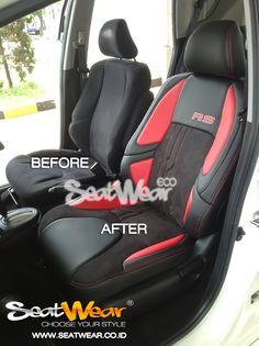 Seatwear di Honda Mugen (Pasar Minggu)  Seatwear adalah sarung jok mobil dengan desain yang stylish dan inovatif untuk interior jok mobil anda. Seatwear menggunakan kombinasi bahan yang tahan lama karena memakai kulit PU.  *Untuk Pemesanan bisa datang langsung ke Dealer Honda terdekat atau bisa menghubungi sales kami :  Sales Representative 1 (JhuJhu) HP : 085777810007 BB : 5D3EB7E8  Sales Representative 2 (Putra Ahen) HP : 082298191580  BB  : 5C65B0AE  www.seatwear.co.id info@seatwear.co.id