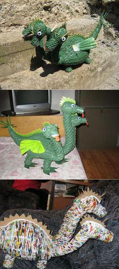Мы для наших деток даже дракона можем сплести!