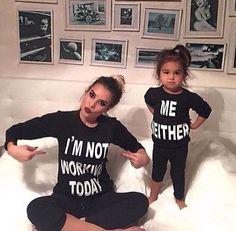 d84f7b98 Womens Sweatshirt Mother Daughter Girls Long Sleeve Hoodie Sweatshirt  Pullover Future Daughter, Mother And Daughter