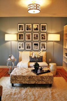 Love the Santorini blue wall color from Benjamin Moore   Emily A. Clark