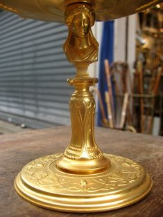Tidy Cup Gilt Bronze Signed H.cahieux And Barbedienne, Le Festival des Cannes, Proantic