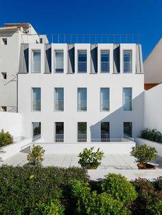 Prazeres Building in Lisbon, Portugal by Aurora Arquitectos | http://www.yellowtrace.com.au/aurora-arquitectos-prazeres-building-lisbon-portugal/