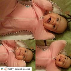 Thanks for tagging us and letting us share @baby_bergoo_plazas! #Repost @baby_bergoo_plazas via @GPRepostApp ======> @baby_bergoo_plazas:Happy baby in the morning!! #lovetodream #pink #swaddleup #lovetodreamusa #lovetoswaddleup #armsupbaby