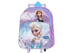 Mochila carrito Frozen. Medidas 24x34x11cm http://www.licenciasinfantiles.es/p.21860.0.0.1.1-mochila-carrito-frozen.html