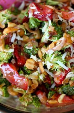 Strawberry Broccoli Salad