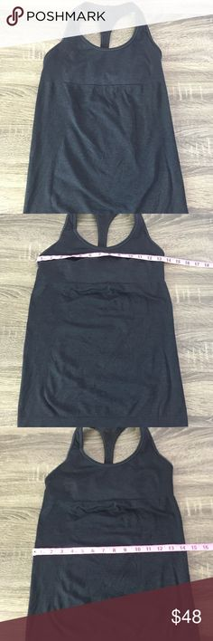 Lululemon top Super cute and comfy lululemon top. In great condition, gently used. lululemon athletica Tops Tank Tops