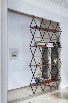 kazu721010: Floor-To-Ceiling Shelf & Space Divider / Pietro Russo Design Studio