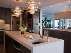 30 Fresh and Contemporary Kitchen Countertop Ideas