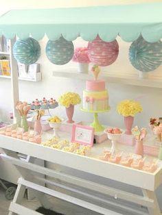 For Farmer's Market Display: Cute Bakery Display Ideas
