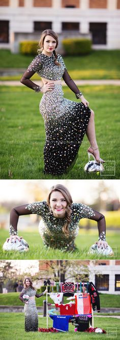 Penny Claire Photography | senior pictures | prom dress | soccer girl