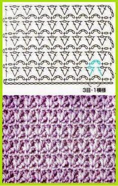 Patterns and motifs: Album crocheted pattern 4