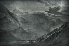 The Mountain Gloom by John Ruskin