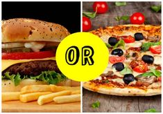 Are You A Burger Or A Pizza Person?