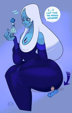 SU art,Steven universe,фэндомы,dwps,Blue Diamond,SU Персонажи,Blue Pearl