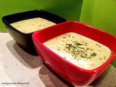 Przepis na zupę serowa