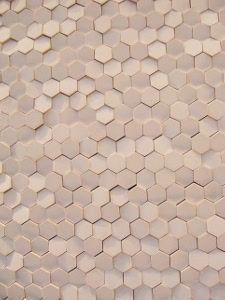 Honeycomb -- part of Mutina's Phenomenon collection by Tokujin Yoshioka