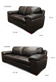 Euro Lounge Suite 2.5+3 seaters | Hunter Furniture - price $2600-4400 material dependent