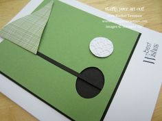 Golf Card using Stampin' Up!® product - Stamp Your Art Out!