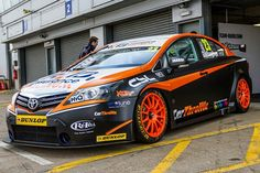 btcc donington - #Trackaddict on that this weekend at Donington. Kieran is driving the #23 Team HARD Toyota Avensis and with its striking livery is one of, if not the best looking car on the grid.