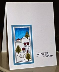 allycat cards: Stamping Through the Seasons