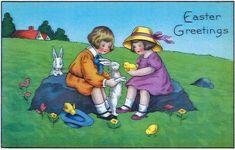 Easter Greeting Card - Easter Greetings