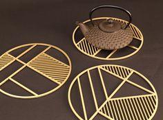 trivets_tea Properties Of Materials, Architecture Design, Pure Products, Tea, Fashion Design, Material Properties, Architecture Layout, Teas, Architecture Illustrations