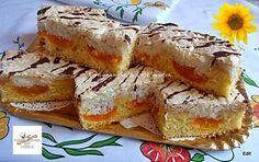 Kókuszhabos barackos szelet, valódi finomság és nem is nehéz elkészíteni! - Egyszerű Gyors Receptek