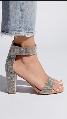 Disco glam heels