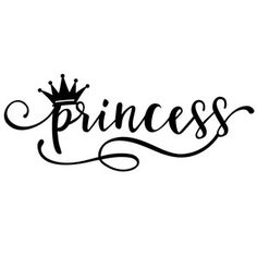Welcome to the Silhouette Design Store, your source for craft machine cut files, fonts, SVGs, and other digital content for use with the Silhouette CAMEO® and other electronic cutting machines. Silhouette Cameo Projects, Silhouette Design, Love Silhouette, Princess Tattoo, Princess Crown Tattoos, Princess Quotes, Calligraphy Quotes, Handwritten Fonts, Diys
