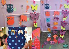 Color splash buntings, adding humour and cuteness to your lil ones room. #kids #room #decor #thewhistlingnest #buntings