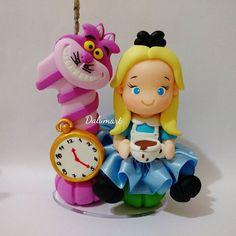 Mini-topinho Alice no País das Maravilhas. ❤ #dalumart #artesanato…