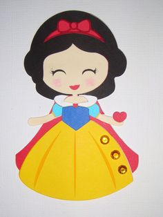 Princess Snow White Rince Queen Lot Die Cut Paper Doll Scrapbook Embellishment   eBay