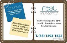 FAST MVA OFICINAS AMUEBLADAS EN RENTA  OFICINAS EJECUTIVAS? Servicios Incluidos en renta desde $3000 hasta $7000 pesos. Oficinas Amuebladas ...  http://guadalajara-city-2.evisos.com.mx/fast-mva-oficinas-amuebladas-en-renta-id-616627