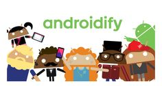 The all-new Androidify app, available free from the Google Play Store, lets you take the little green Android mascot and turn it into yourself, your family, your friends… anyone! Then, share them as animated emoticons, GIFs & pics.