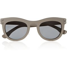Douglas D-frame sunglasses (405 AUD) ❤ liked on Polyvore featuring accessories, eyewear, sunglasses, glasses, occhiali and roland mouret