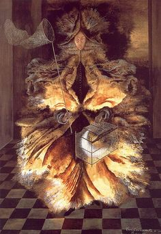 #ARTIST Remedios Varo - Star Catcher