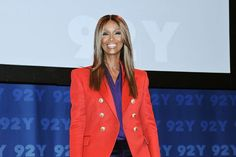 Iman keeps on calling for a more diversified runway #92Y, #Fashion, #FernMallis, #NaomiCampbell