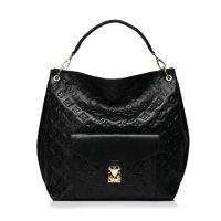 2013 Louis Vuitton Monogram Empreinte Metis Bag M40808 black