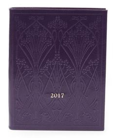 This luxurious Ianthe embossed Liberty leather diary ensures a stylish passage into the new year.