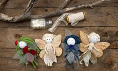 Make your own cute fairy with this no sew tutorial.