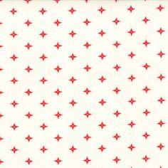 Winter Wonderland - Starlight in Snow White (2879 12) // Juberry Fabrics