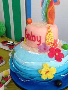 Teen Beach Movie torta cake cumpleaños playa