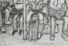 Commuting home Drawings, Painting, Art, Sketches, Craft Art, Painting Art, Kunst, Paintings, Drawing