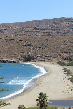 Chora beach, Andros island, Greece #ihavethisthingwithgreekislands #Greece