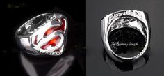 SUPERMAN RETURN Platinum Plated Men's Ring sz 10 NEW comic fashion jewelry Movie Collectibles marvel
